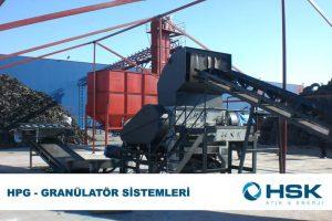 HPG – Granülatör Sistemleri