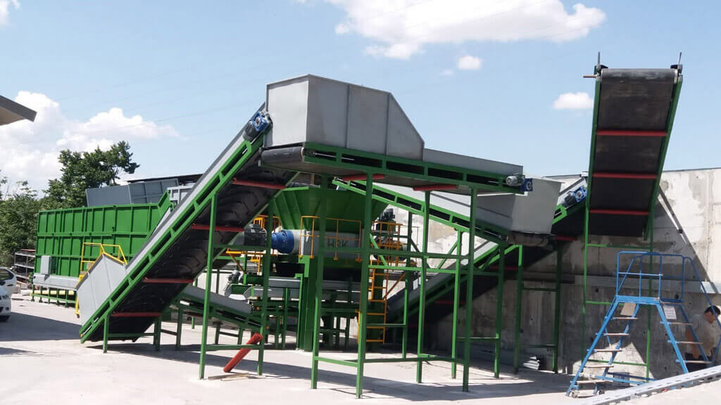 Waste Tire Recyling Plants Project