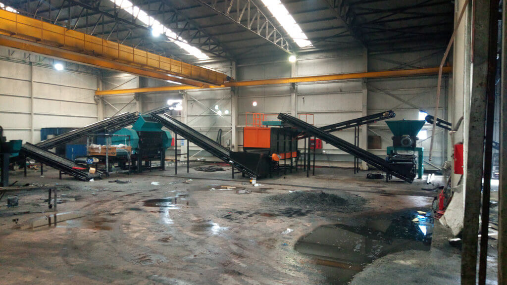 Waste Tire Recyling Plants