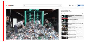 hsk atık enerji geri dönüşüm videoları